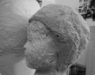 l 39 avenir incertain une sculpture en r sine poxy de bruce krebs sculpteur. Black Bedroom Furniture Sets. Home Design Ideas